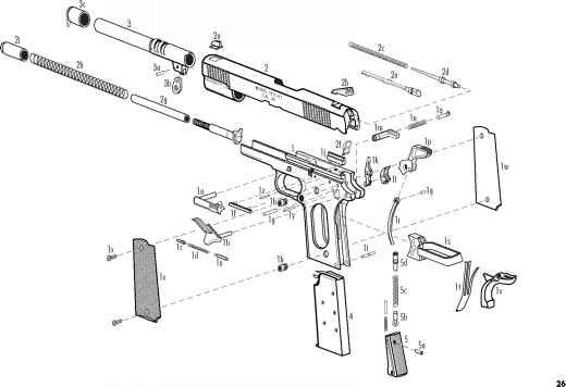 Pin By Sunrising On Exploded Springfield 1911 Guns Weapons