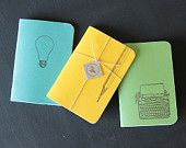 Bright Ideas - Letterpress pocket journals