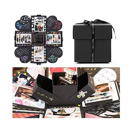 Kleine Kiste mit großem Effekt - DIY Fotoalbum zum Überraschen #fotogeschenk