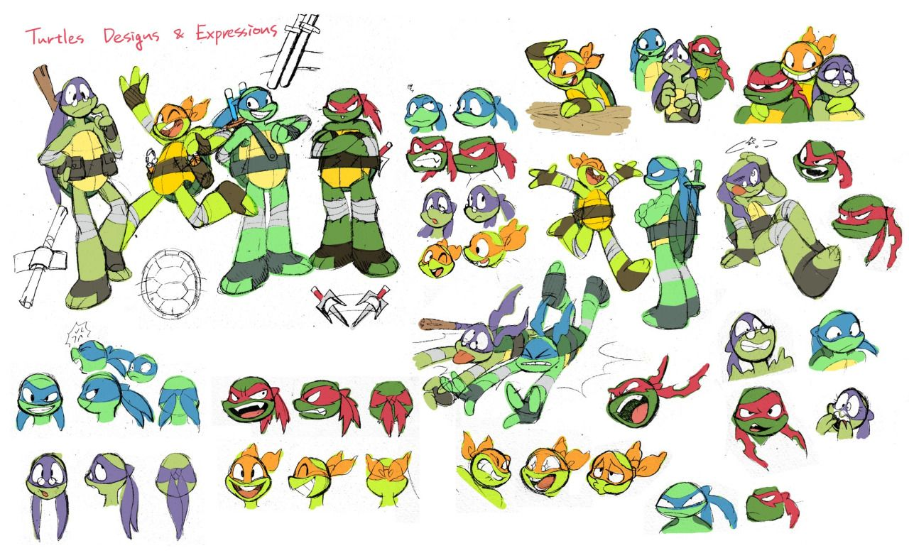 ch5615 — Concept arts for Turtles Take Time (and Space)