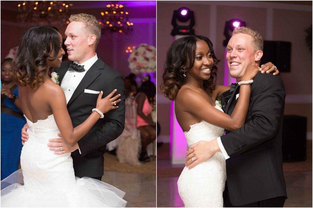 Beautiful interracial couple on their wedding night #love #wmbw #bwwm