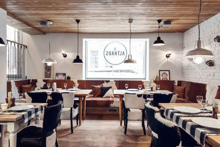 La déco champêtre chic d\'un restaurant | Restaurants, Restaurant ...