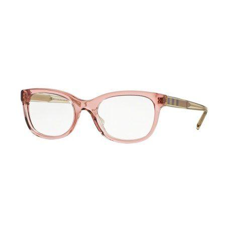 a65affe48439 Burberry BE2213-3565 Check Women's Crystal Pink Frame Genuine Eyeglasses NWT