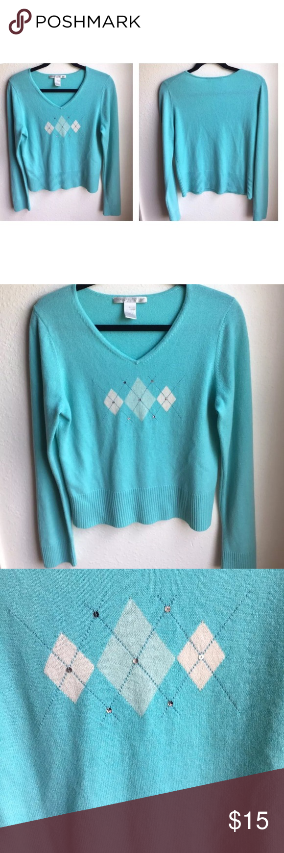 Grayson&Dunn 100% Luxury Cashmere Sweater Sz L | Cashmere sweaters ...