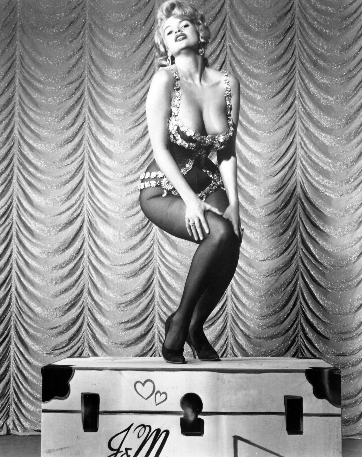 "Jayne Mansfield House jayne mansfield for her ""house of love"" show at the dunes hotel in"