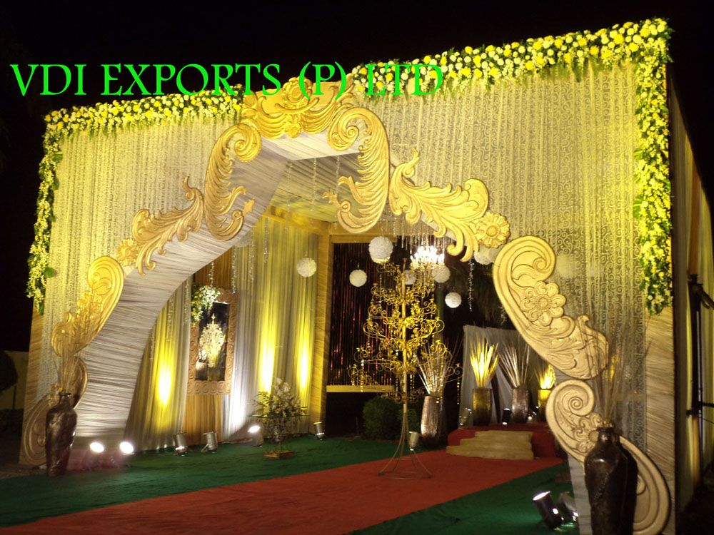 Wedding Decor Entrance Gate Etc And Indian Wedding Accessories