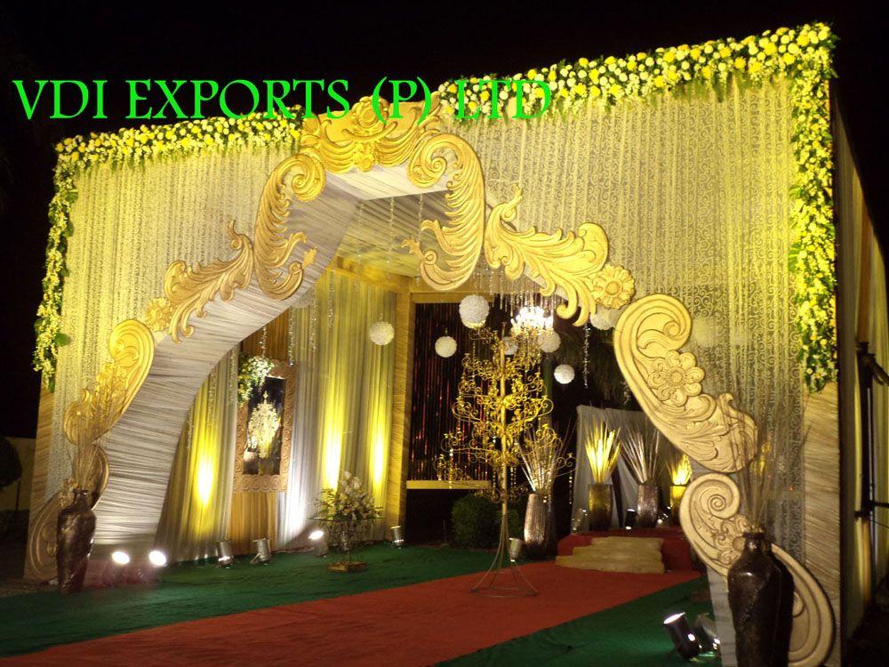 WEDDING DECOR ENTRANCE GATE ETC and Indian Wedding ...