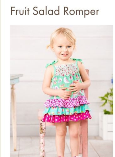 26276d600 One-Pieces 57847: Matilda Jane Fruit Salad Romper 6-12 Months Baby Bubble  One-Piece Watermelon Nwt -> BUY IT NOW ONLY: $38 on eBay!