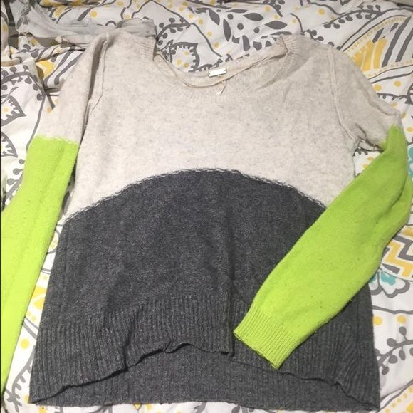 Free people sweater Very soft free people color block sweater. Free People Sweaters Crew & Scoop Necks
