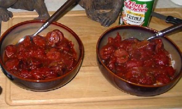 Cajun Sausage Creole recipe picture