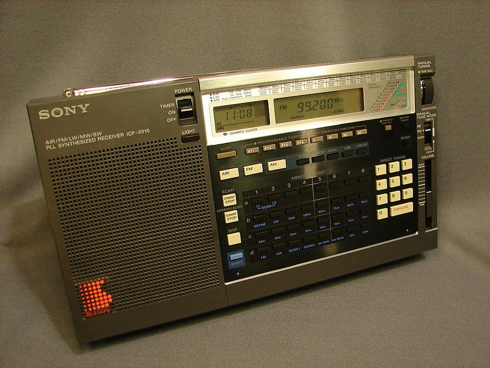 Sony ICF-2010 Shortwave Radio AIR AM FM SSB LW MW CW SW