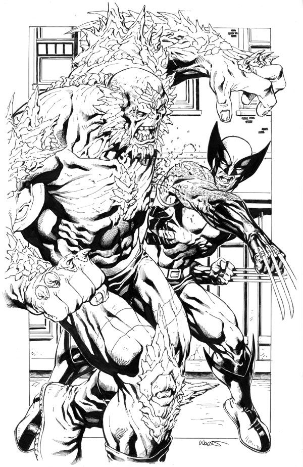 Wolverine vs doomsday | Marvel | Pinterest | Cómic