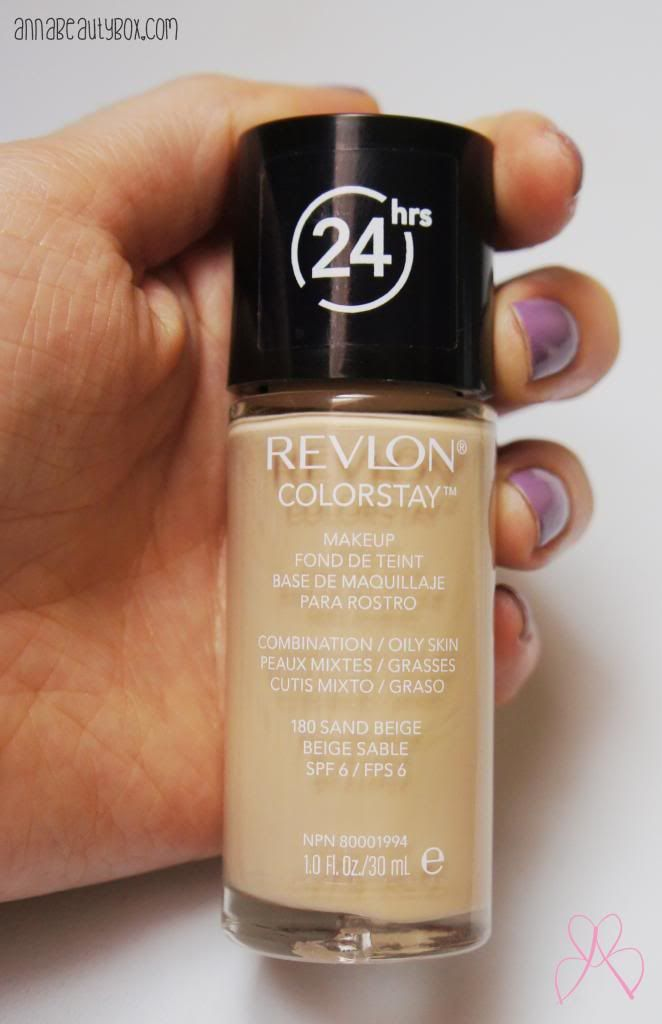 This Foundation Is Great For Combination Oily Skin Has A Erage And Pretty Longlasting Revlon Colorstay