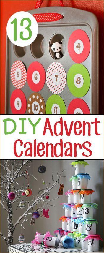 Christmas Countdown Countdown calendar, Advent calendars and Creative