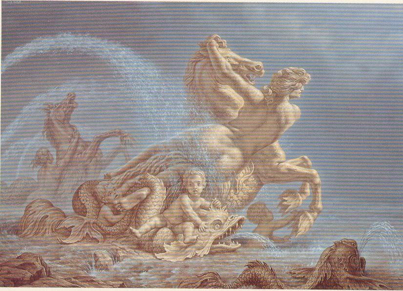 A Fonte de Esedra - Nereida e o Cavalo Marinho