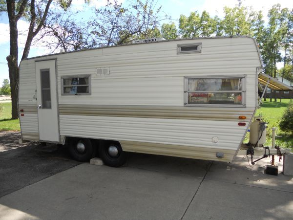 For Sale Vintage Camper 1972 Prowler 1900 Or BO Union Grove WI