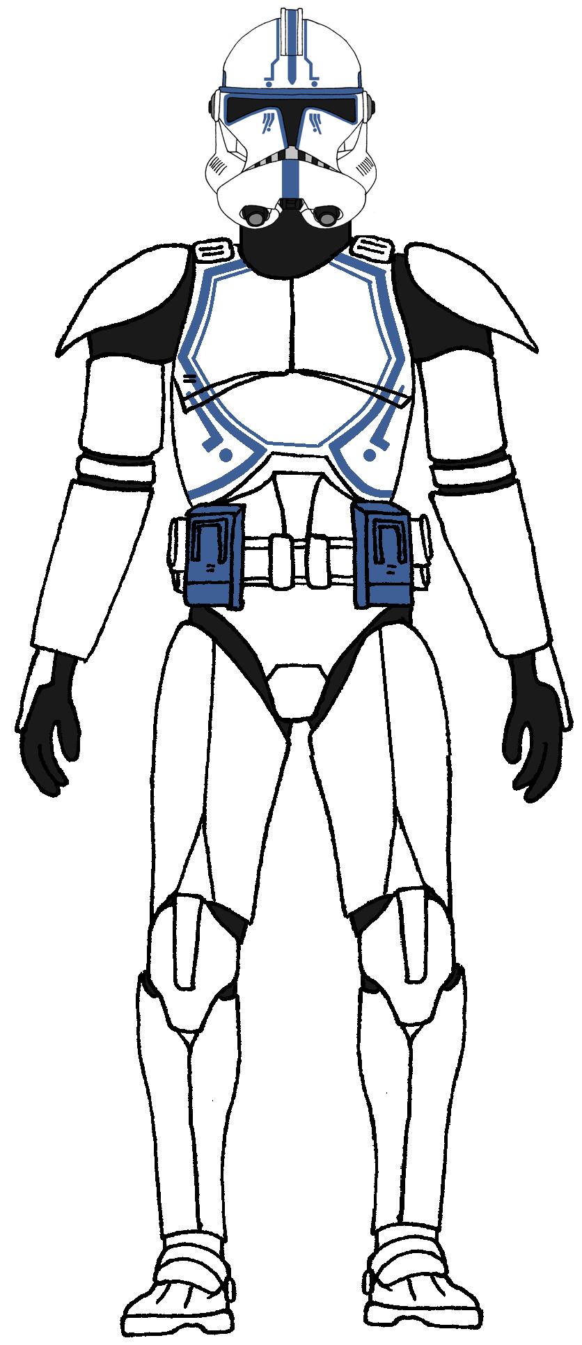 Clone Trooper 501st Legion Hardcase 2 Zvezdnye Vojny Shturmoviki Vojna