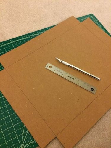 How To Make A Chipboard Box Box Template Printable How To Make Box Chipboard Projects