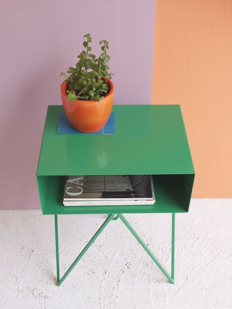Robot Green Side Table Sidetabledesign Colorful Design Redsidetables Modern Living Room Livingroomdesign Decorating Ideas Find More Inspirations At