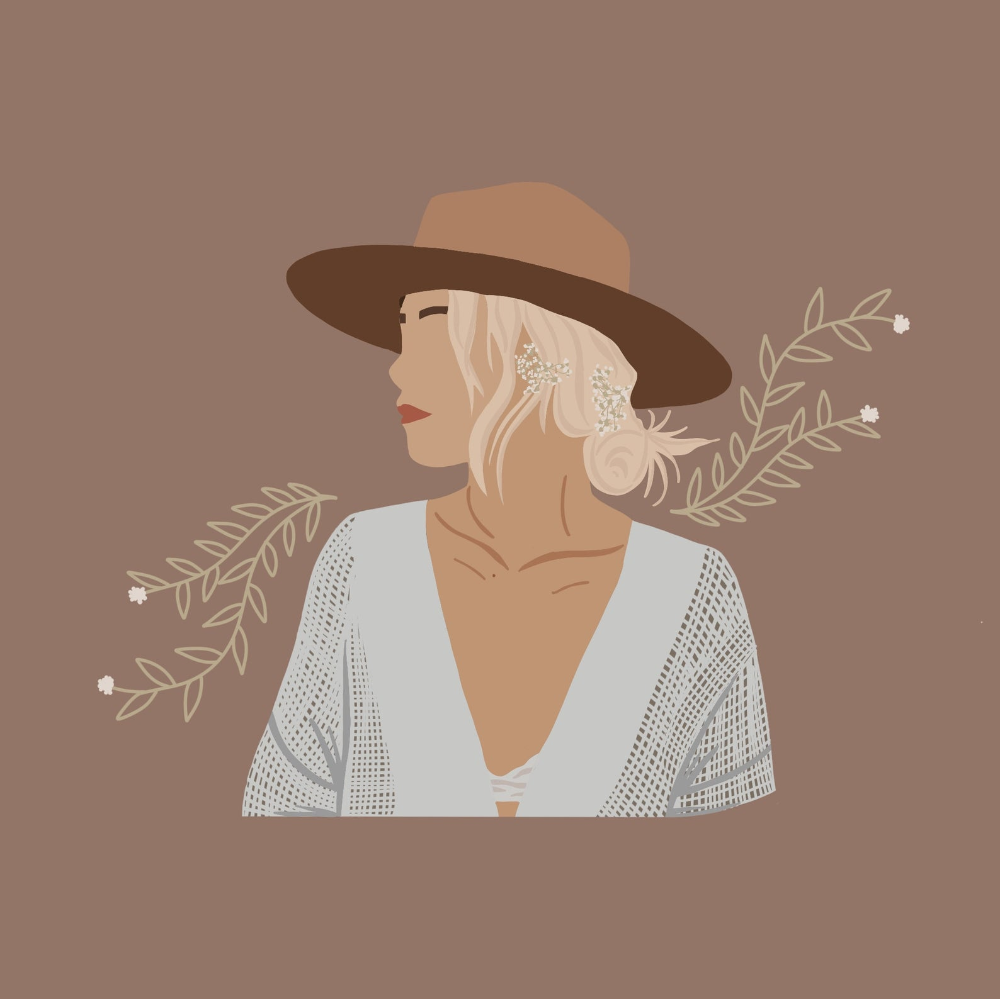 Custom Digital Portrait/ Flat Illustration Portrait/ Graphic | Etsy