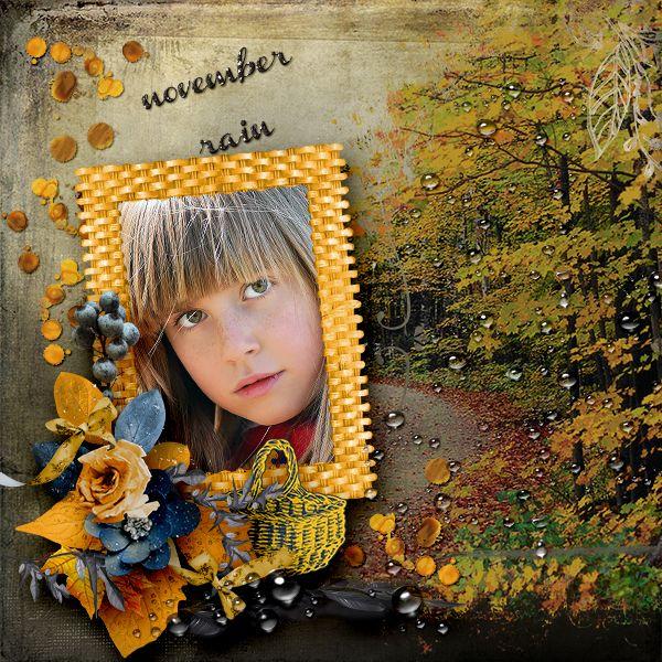 NOVEMBER RAIN* by Graphic creations http://scrapbird.com/…/d-j-…/graphic-creations-c-73_515_556/  Photo: Pixabay