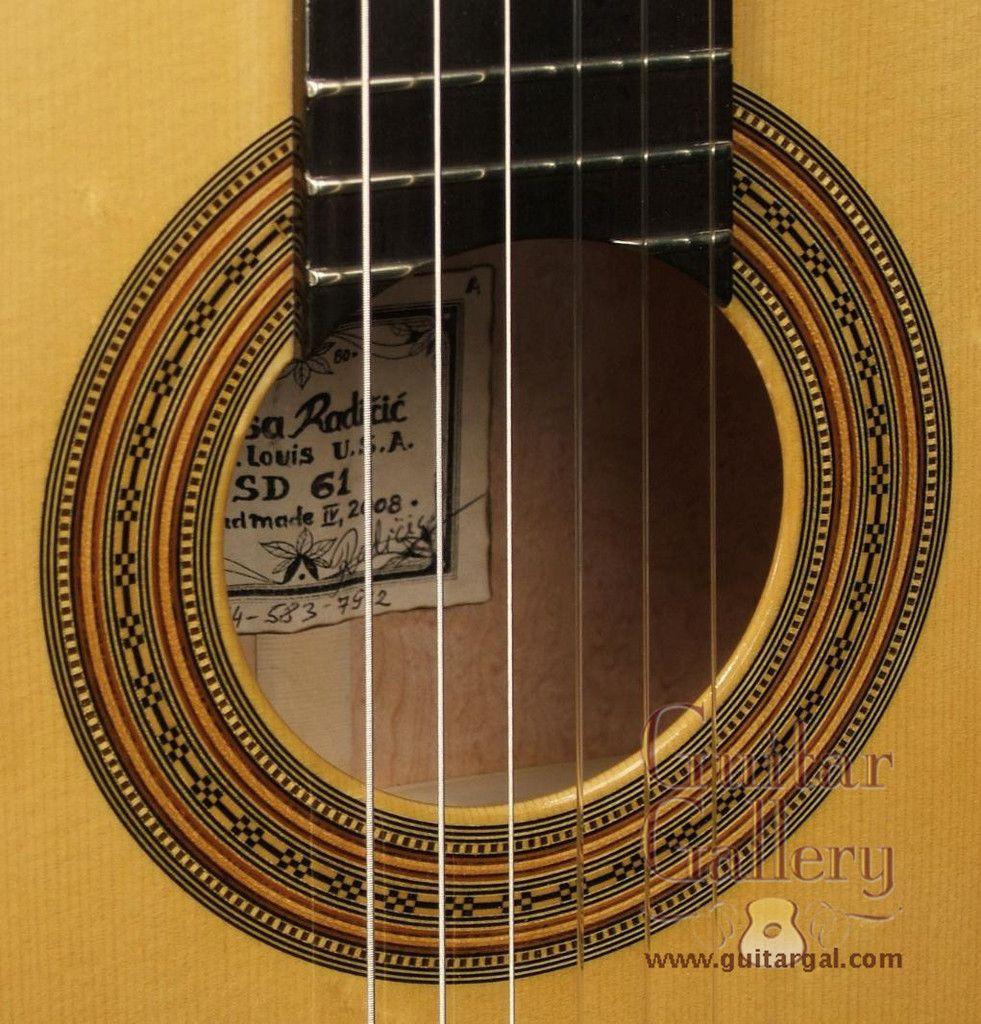 Radicic Guitar: BirdsEye Maple Classical (2008)   Guitarras