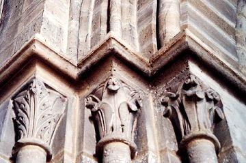 Gothic Column Capitals