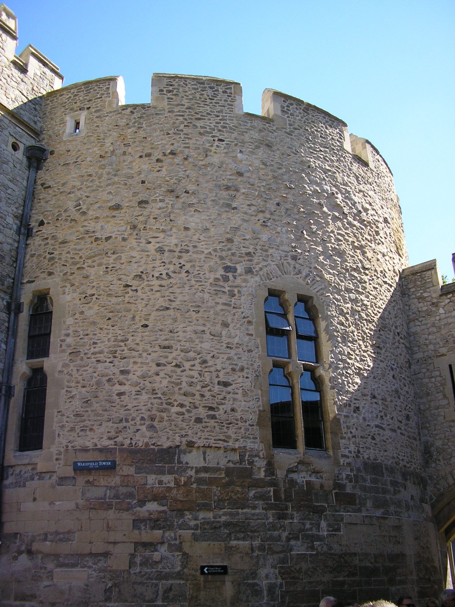 Wakefield Tower is just one of the 21 towers which, together, form the Tower of London castle complex.
