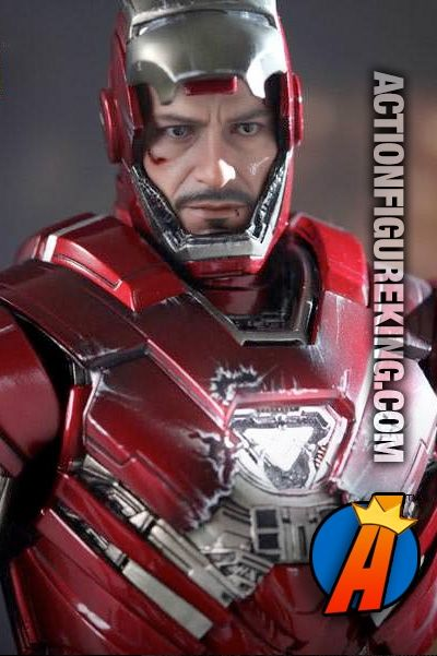 Sensational Iron Man Silver Centurion Mark 33 Sixth Scale Figure From Hot Hairstyles For Women Draintrainus