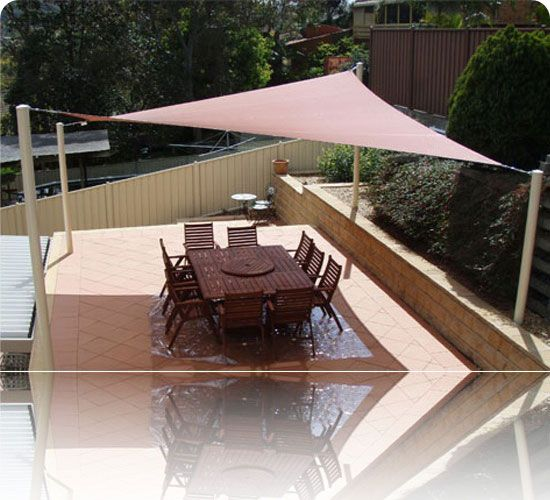 DIY Sun Shade Ideas | Do It Yourself Shade Cloth Sails. How To Install Your