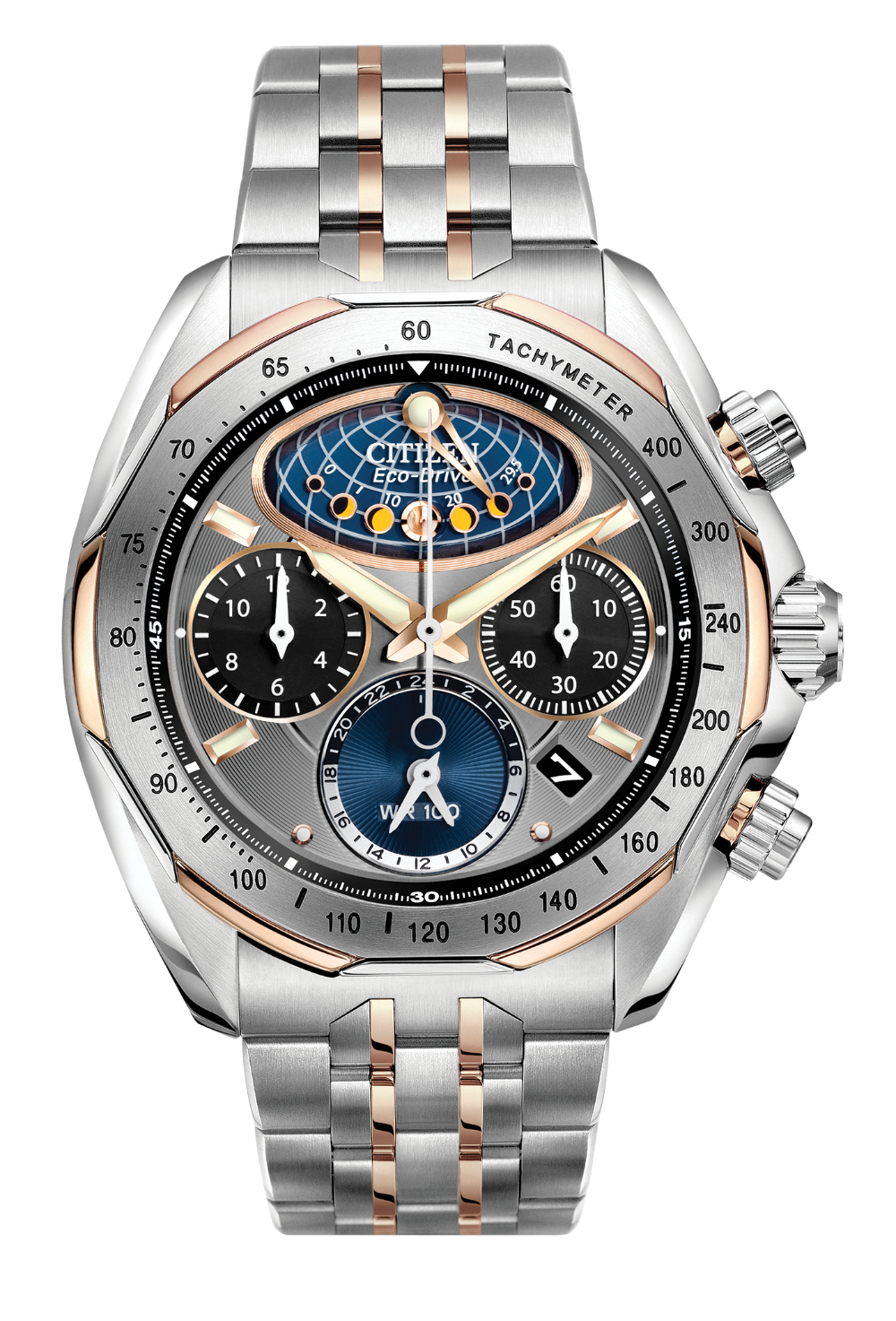 47cef46b356 Citizen Moon Phase Flyback Eco Drive Signature AV3006-50H in 2018 ...