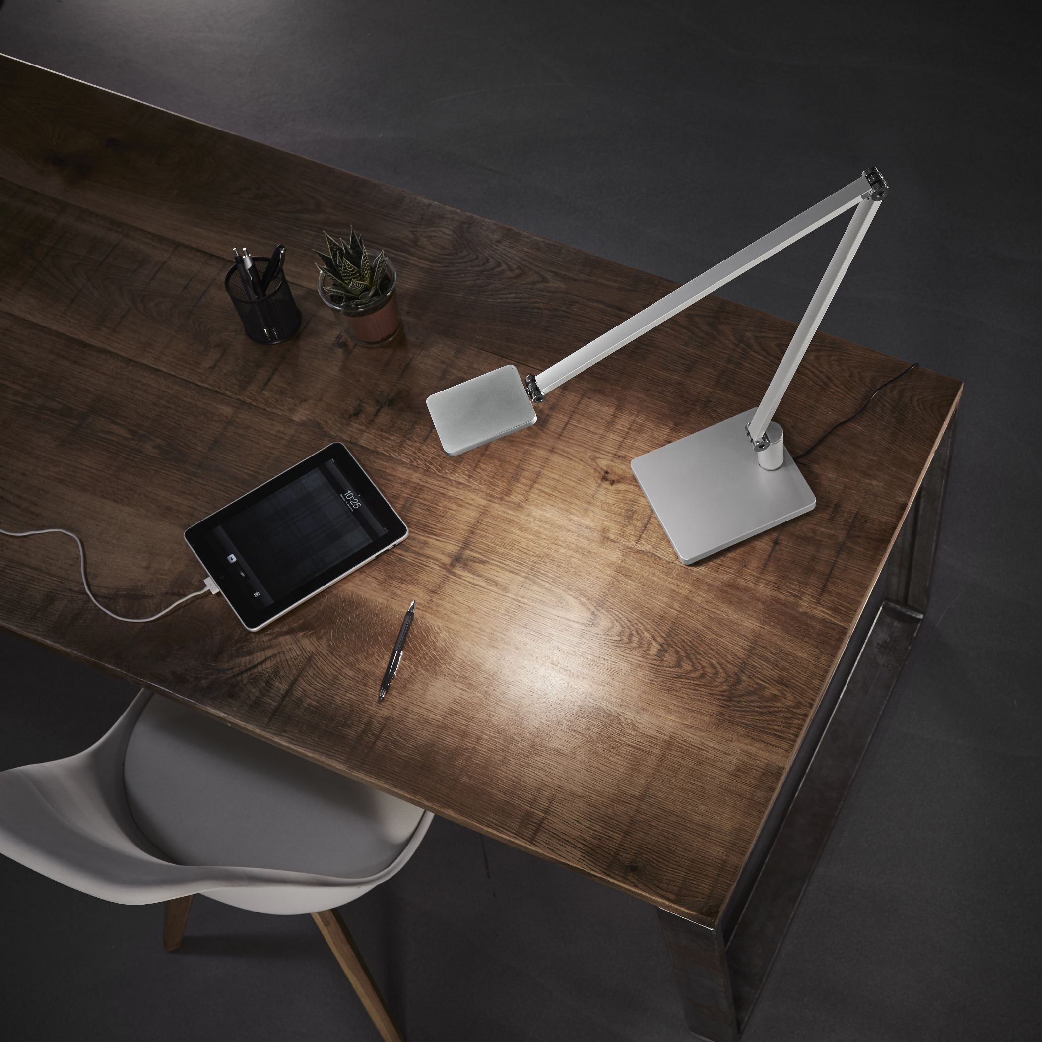 Attenzia Task Focus A Bright Clear Light Just Where You Need It To Reduce Eye Strain And Improve Focus O Workspace Design Commercial Interiors Led Lights