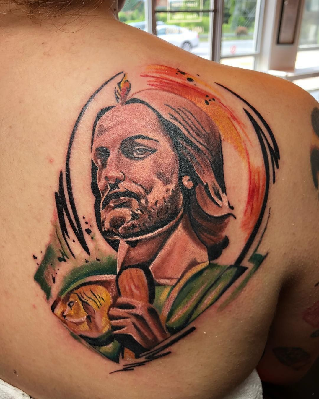 San Judas Tadeo By Sysko Tattoofiesta Judas Tadeo Tattoos