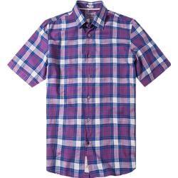Photo of Signum men's short-sleeved shirt, purple Signum