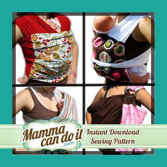 Baby Sling Sewing Pattern Combo Baby Sling Sewing Patterns And