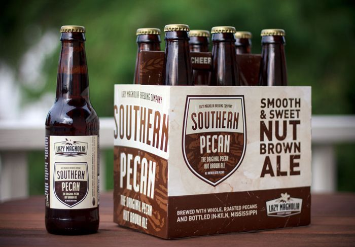 Lazy Magnolia Brewery Southern Pecan Nut Brown Ale Six Pack Nut Brown Ale Brown Ale Pecan Nuts
