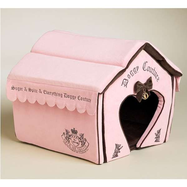 Personalized Kennel And Indoor Dog House For Small Dogs Pink