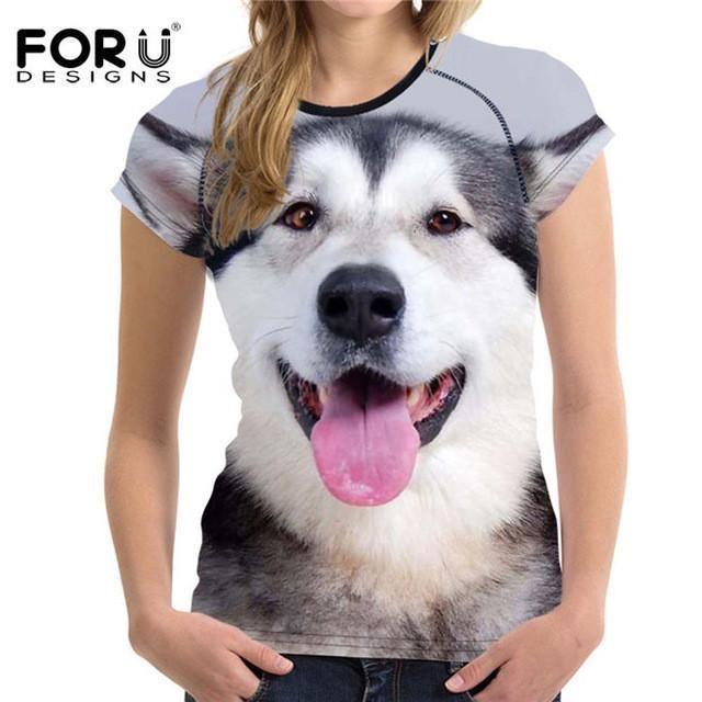 Huskie Printed T-Shirt