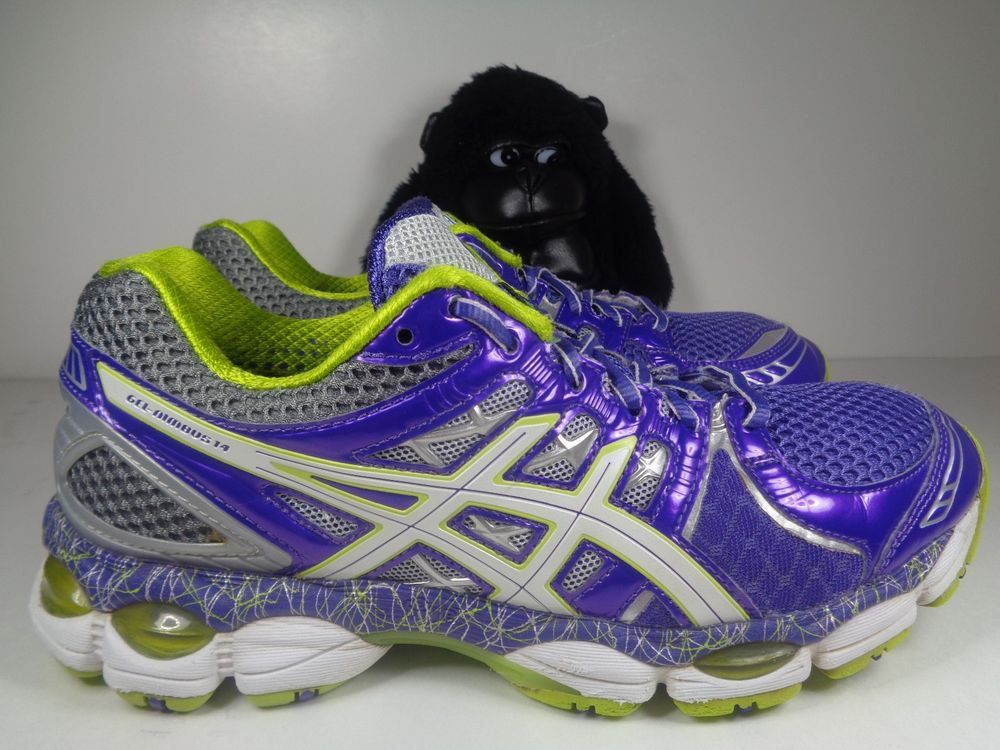 Womens Asics Gel Nimbus 14 Running Training shoes size 8.5 ...