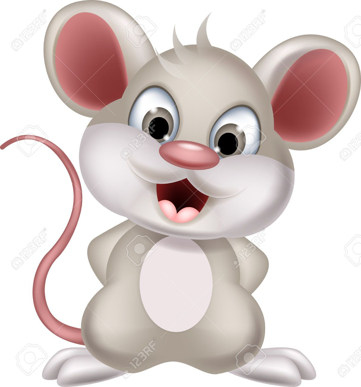 Mouse Clipart Free PNG Image Illustoon