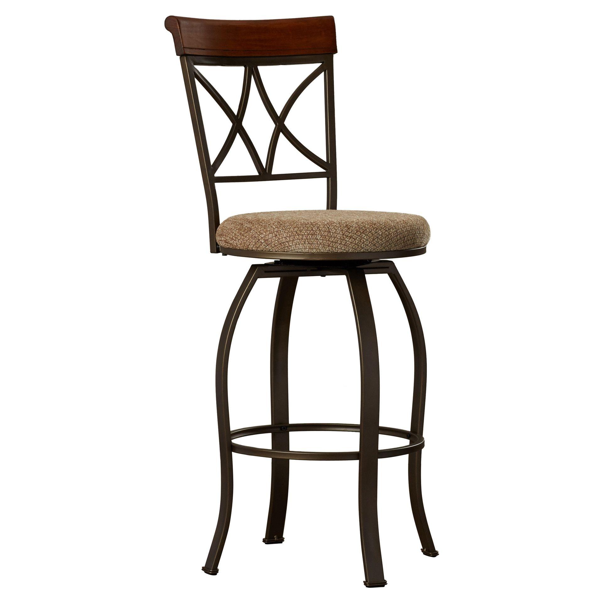 Ronald Swivel Bar & Counter Stool Swivel bar stools, Bar