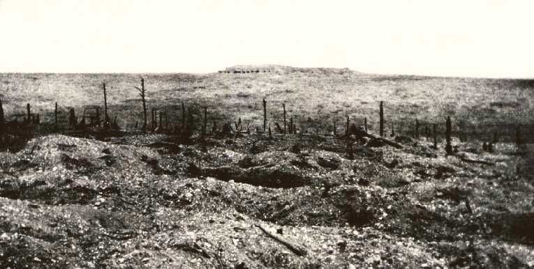 4 November 1916 Verdun Fort Vaux Retaken By French Troops