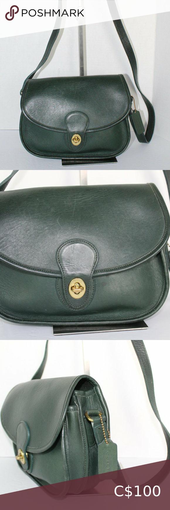 Beautiful Rich Brown BUENO Shoulder Bag Stunning Vintage
