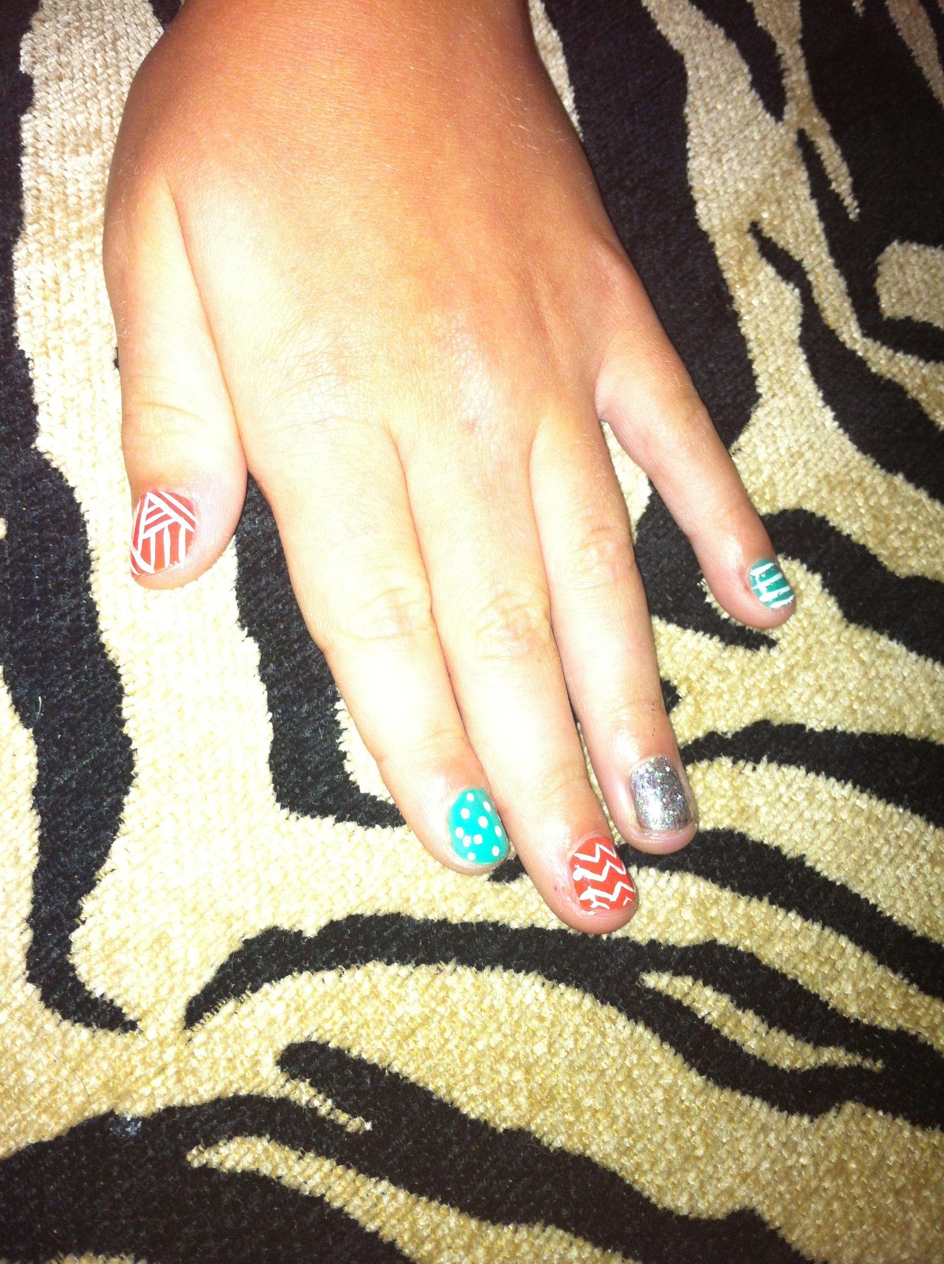 Summer nail design | Nails | Pinterest
