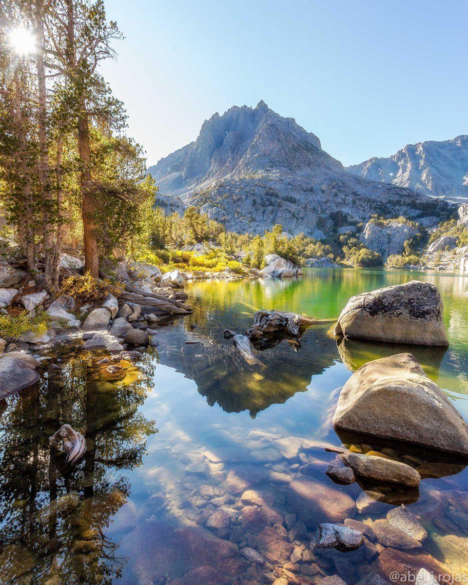 Big Pine Lakes Trail, John Muir Wilderness, California