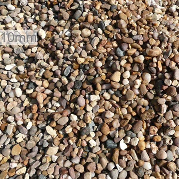 Decorative Stone Quartz Pea Gravel 10mm 850kg Bulk Bag Pea Gravel Stone Decor Decorative Gravel