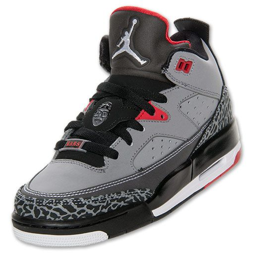 innovative design 68872 93404 Boys' Grade School Jordan Son of Mars Low Basketball Shoes | FinishLine.com  | Cement Grey
