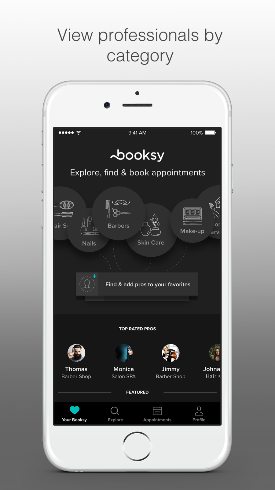 Booksy book your appointment iosLifestyleappapps