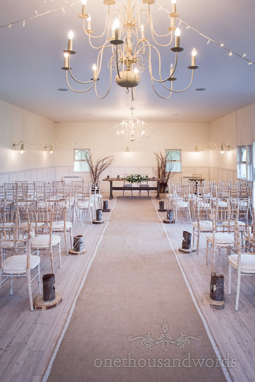 Kings Arms Hotel Pavilion In Christchurch Dorset Wedding Venue With Woodland Styling Photography By One