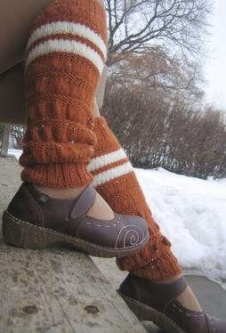 Ruched Legwarmers by Jessie McKitrick on Knitpicks - pattern for $1.99